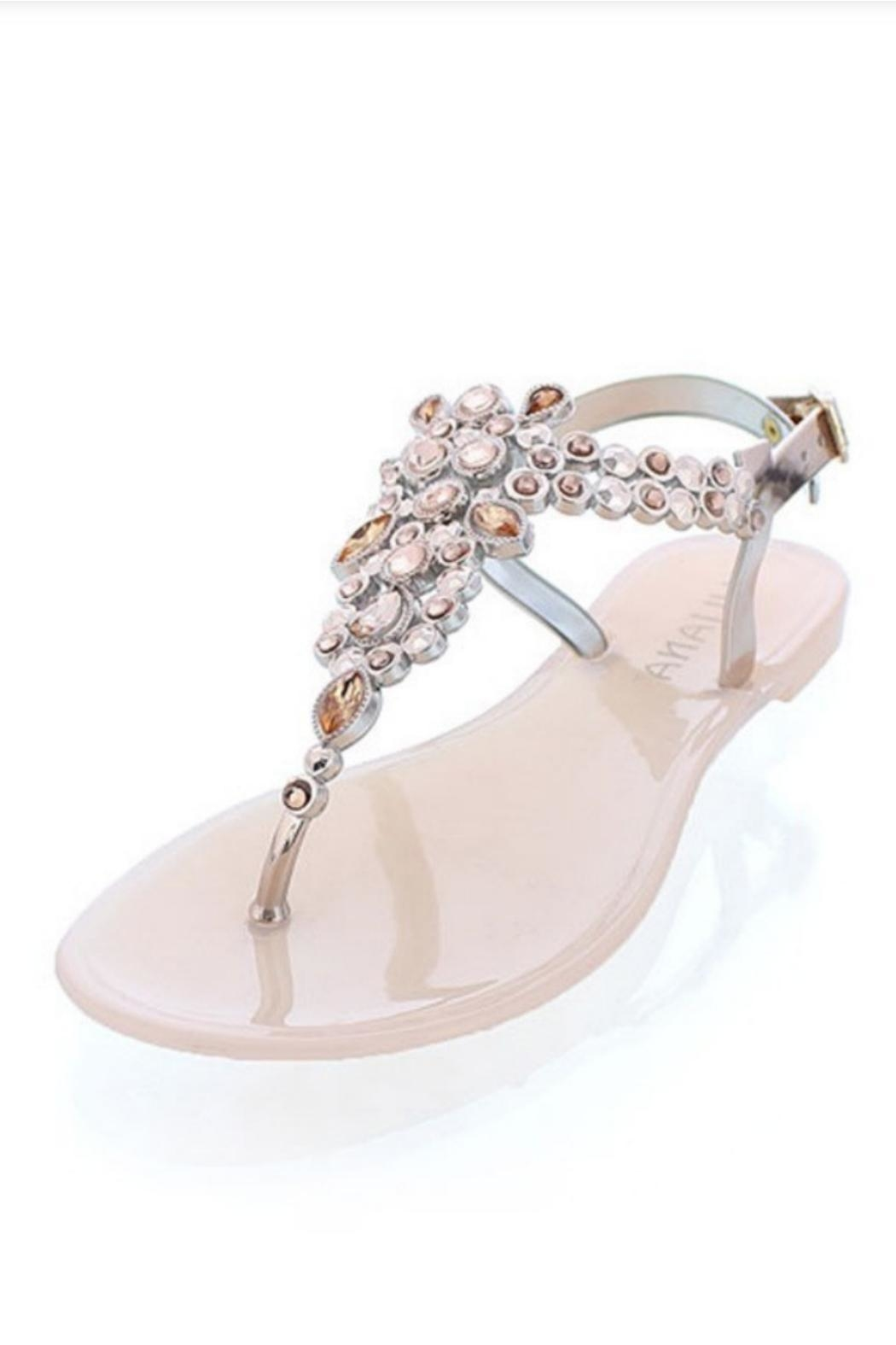 liliana Genstone Jelly Sandals - Front Cropped Image