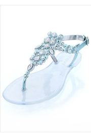 liliana Genstone Jelly Sandals - Front cropped