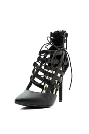liliana Lace Up Heel - Back cropped