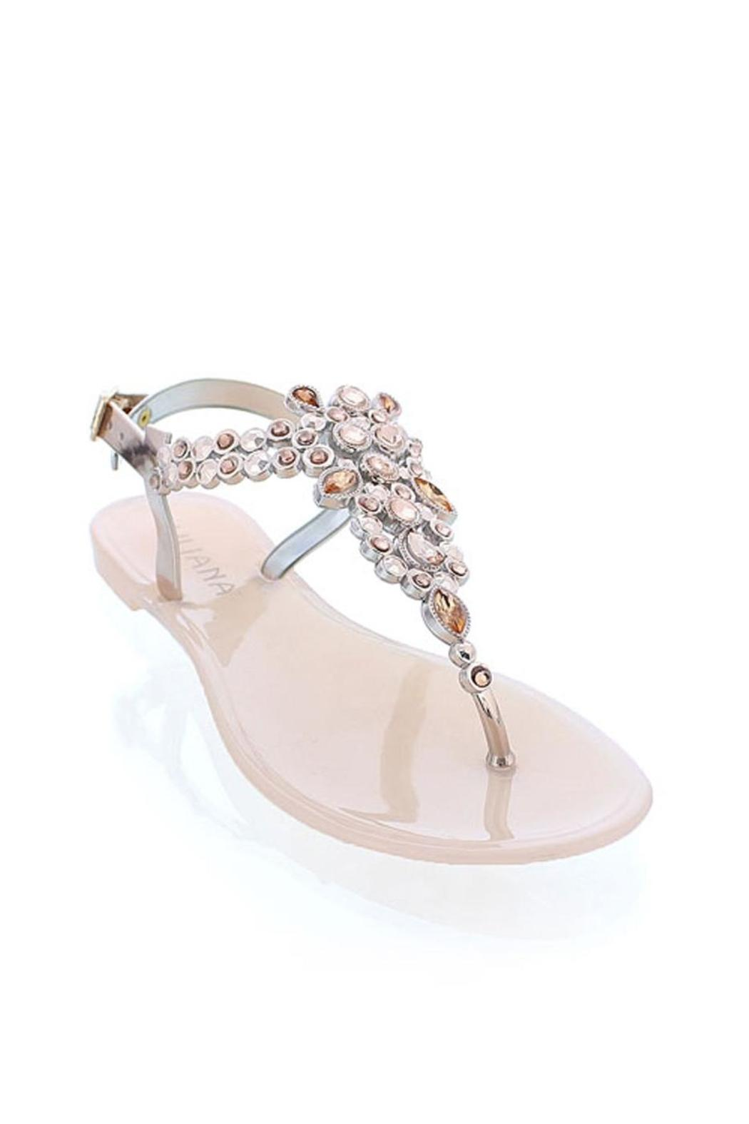 4933a71a4117 liliana Rosegold Bejeweled Sandals from Michigan by Javahs Fashion ...