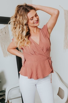 Gentle Fawn Lilium Ruffle Wrap Top - Alternate List Image