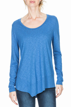 Shoptiques Product: 3/4 Sleeve Scoop Neck Tee