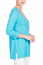 Lilla P 3/4 Sleeve Tunic - Product Mini Image