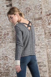 Lilla P Crossed Back Sweatshirt - Product Mini Image