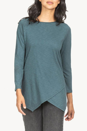 Lilla P Crossed Front Boatneck - Product Mini Image