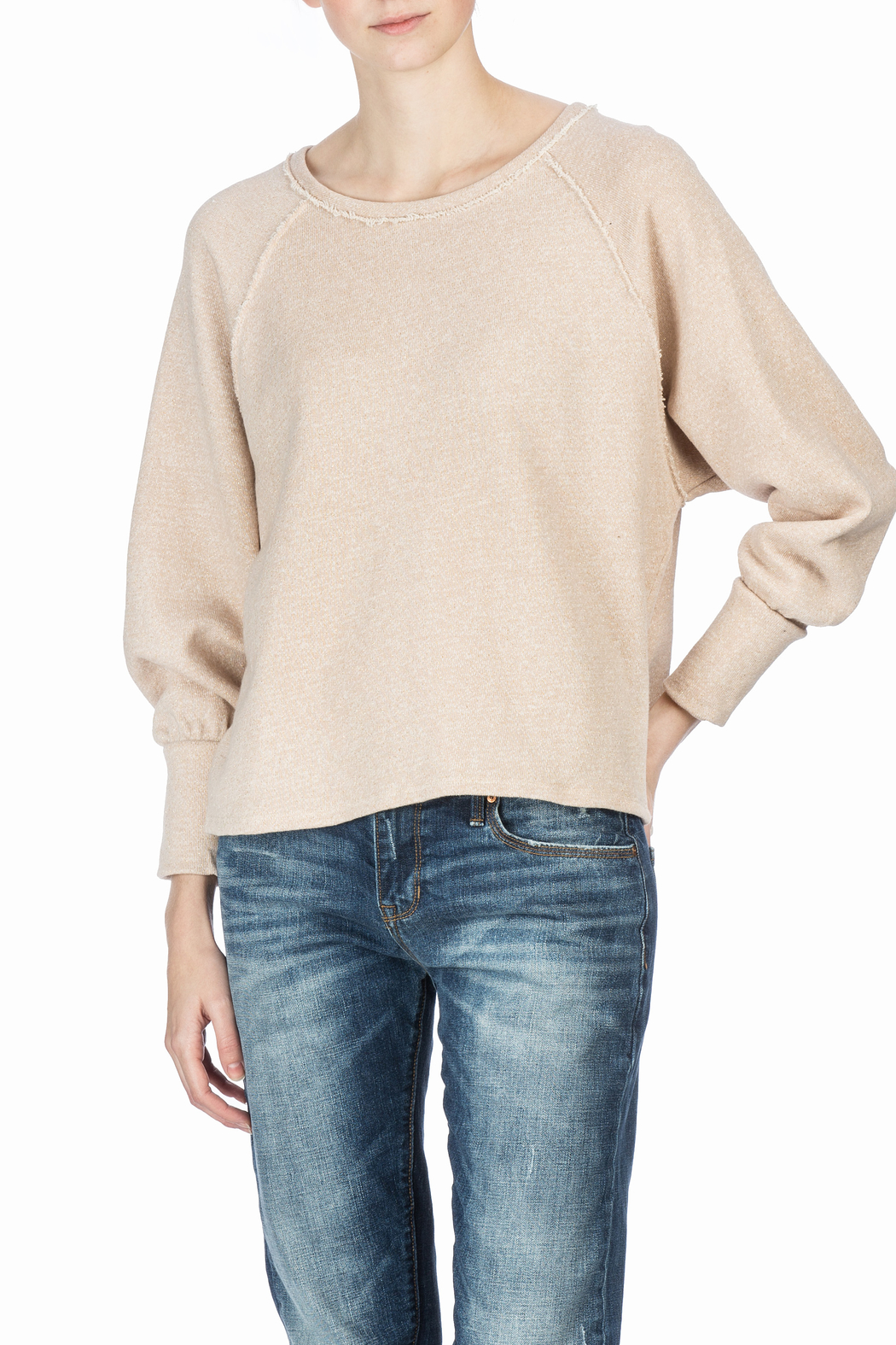 Lilla P Full Sleeve Sweatshirt - Front Full Image
