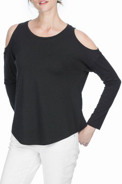 Shoptiques Product: Cold Shoulder Sweatshirt