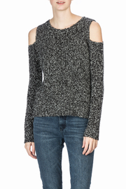 Lilla P Long Sleeve Cold Shoulder - Front cropped