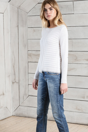 Lilla P Long Sleeve Crew Sweater - Product Mini Image