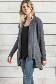 Lilla P Long Sleeve Cardigan - Product Mini Image