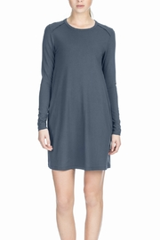 Lilla P Long Sleeve Shift Dress - Product Mini Image