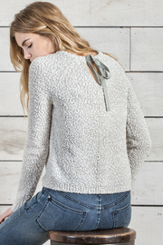 Lilla P Tie Back Sweater - Product Mini Image