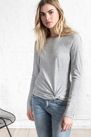 Lilla P Long Sleeve Twisted Top - Product Mini Image