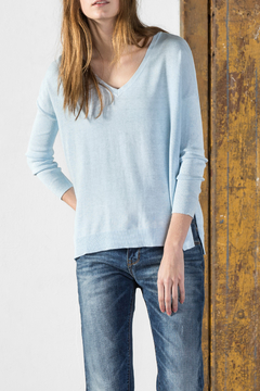 Shoptiques Product: Oversized V Neck Sweater