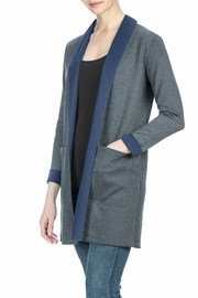 Lilla P Reversible Mid Length Coat - Front full body