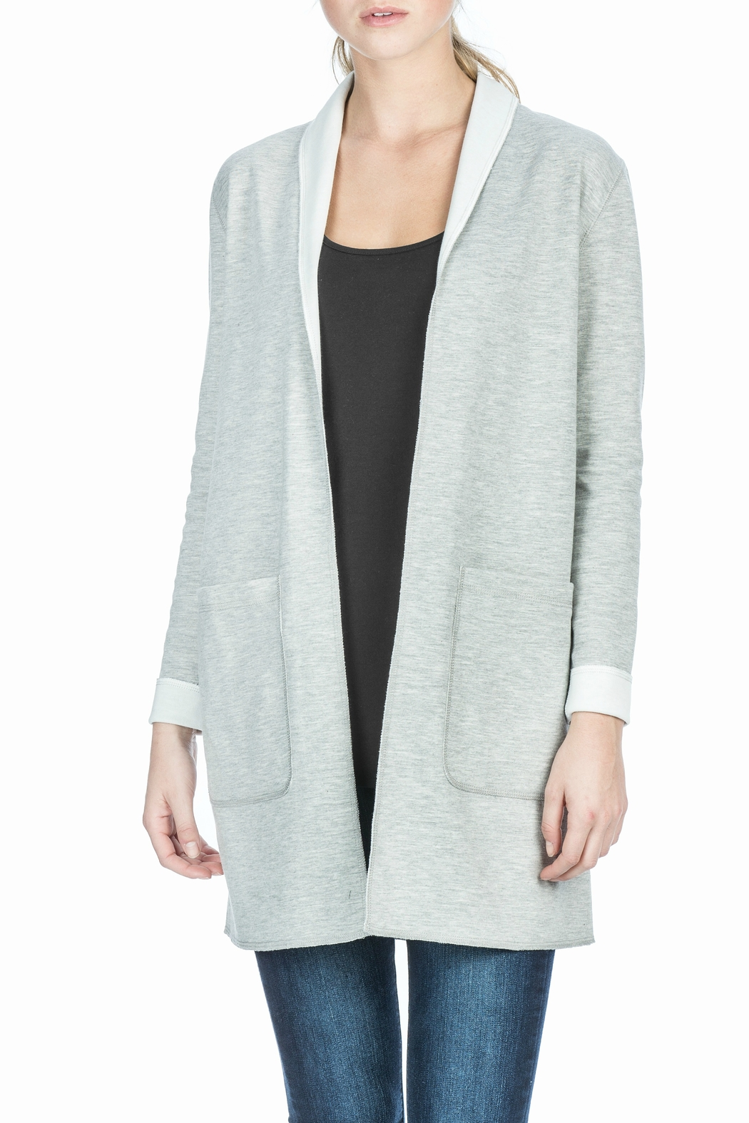 Lilla P Reversible Mid Length Coat - Front Cropped Image