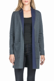 Lilla P Reversible Mid Length Coat - Front cropped