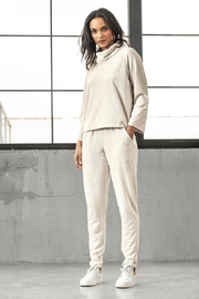 Lilla P Rolled Sleeve Pullover - Product Mini Image