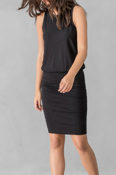 Shoptiques Product: Ruched Skirt Tank Dress