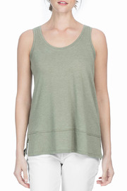Lilla P Scoop Neck Shell Tank - Product Mini Image
