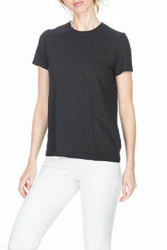 Lilla P Short Sleeve Back Seam Tee - Alternate List Image
