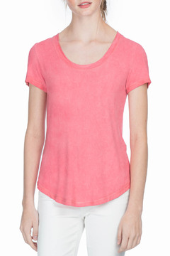 Shoptiques Product: Short Sleeve Scoop Neck