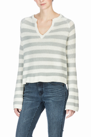 Lilla P Split Neck Sweater - Front full body