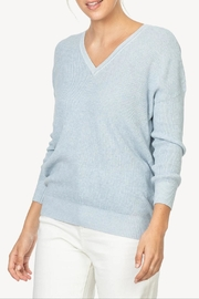 Lilla P 3/4 V-Neck Sweater - Front cropped