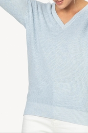 Lilla P 3/4 V-Neck Sweater - Side cropped