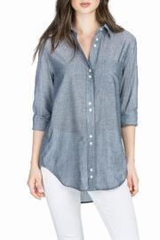 Lilla P Button Down Tunic - Front cropped