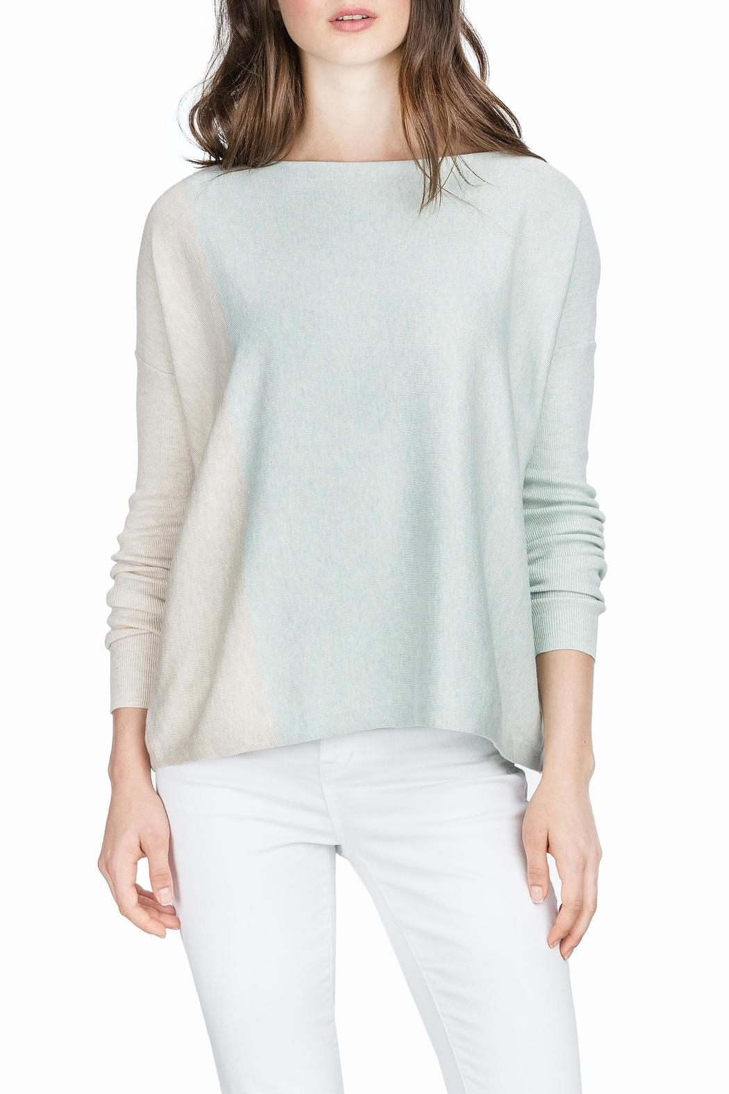 43f90bbafb Lilla P Colorblock Boatneck Sweater from District of Columbia by The ...