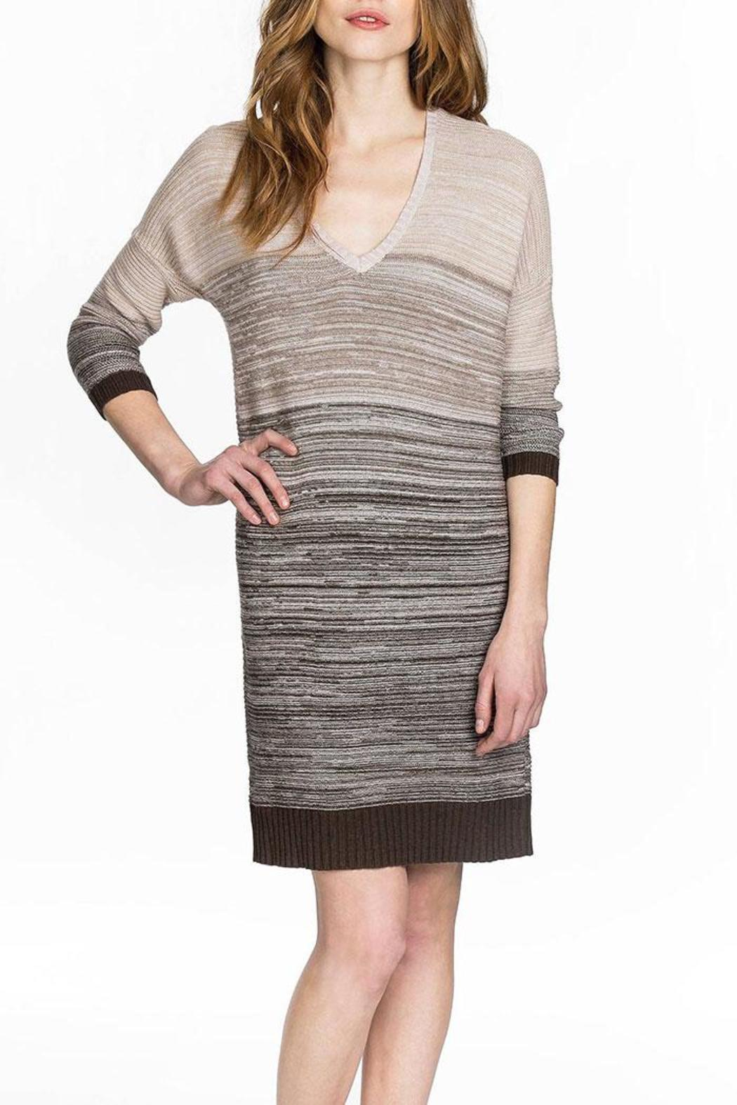 Lilla P Cozy Sweater Dress - Front Cropped Image