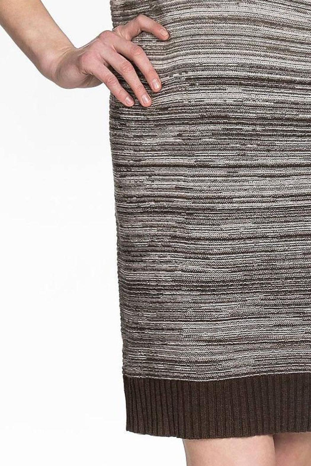 Lilla P Cozy Sweater Dress - Side Cropped Image