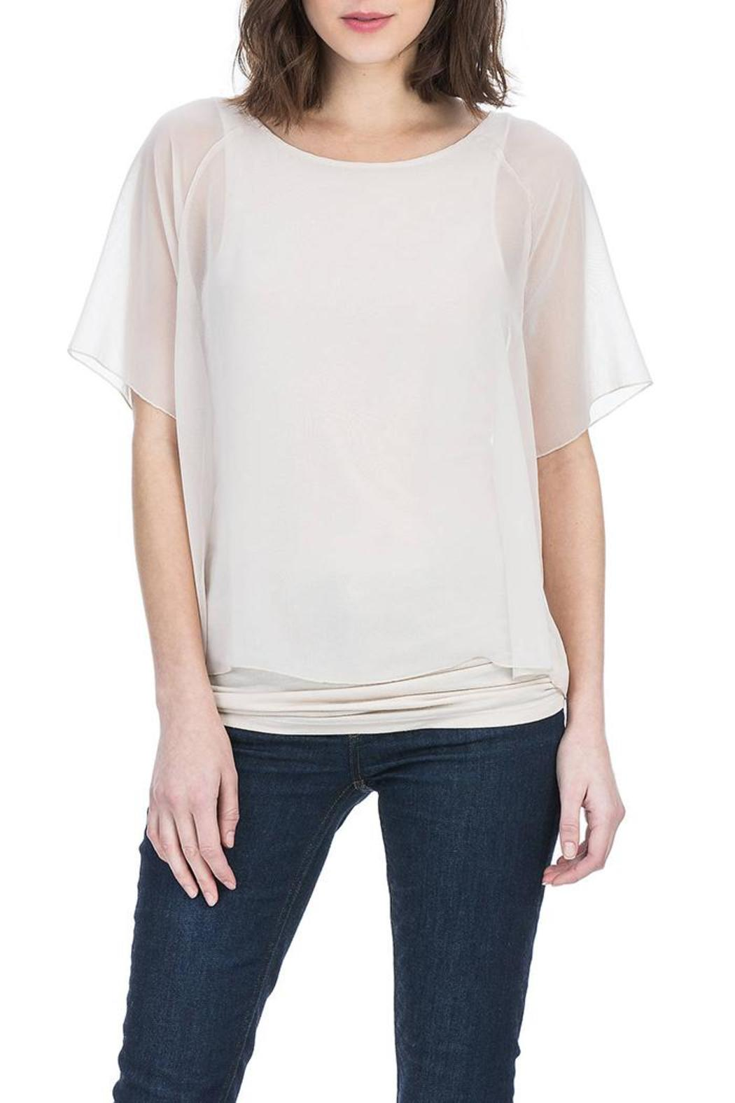 Lilla P Double Layer Blouse - Front Cropped Image
