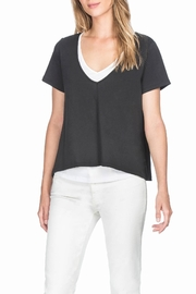 Lilla P Double Layer Tee - Front cropped