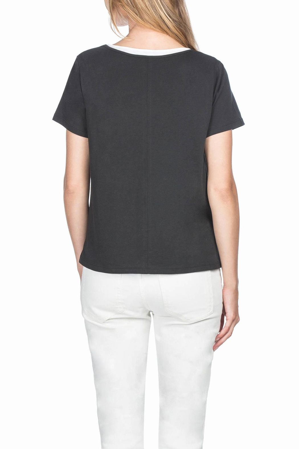 Lilla P Double Layer Tee - Front Full Image