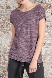 Lilla P Easy Pocket Tee - Front cropped