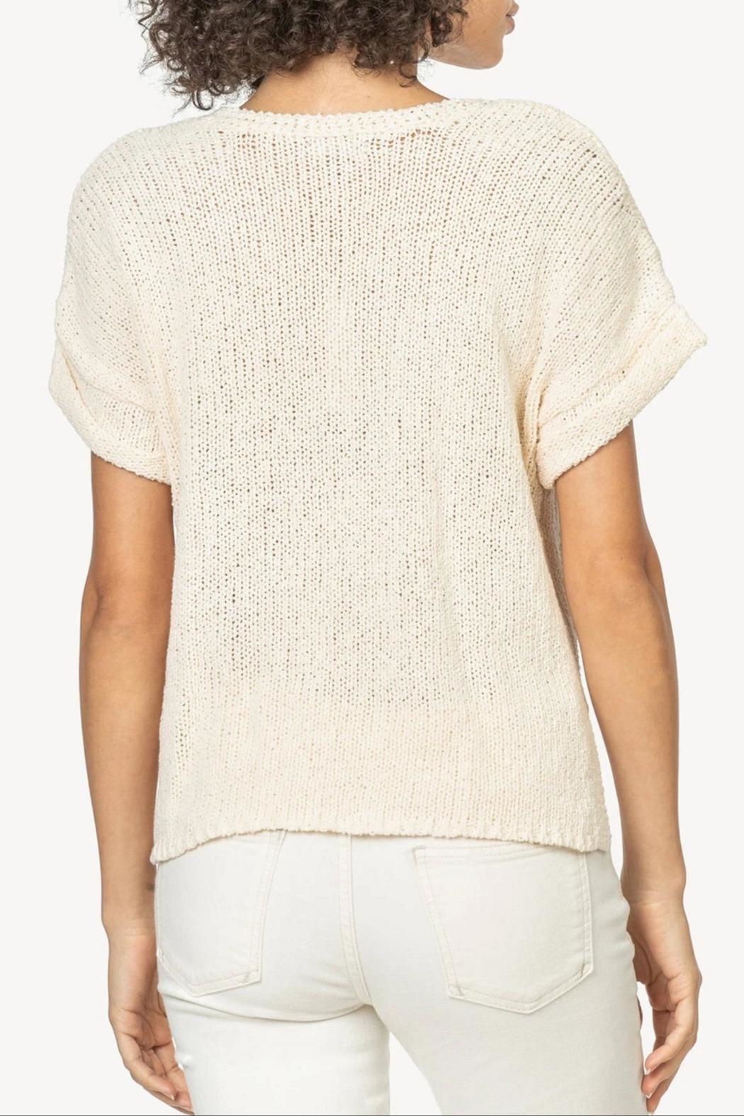 Lilla P Esay V-Neck Sweater - Front Full Image