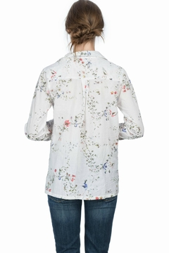 Lilla P Floral Button Down Top - Alternate List Image