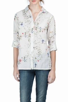 Lilla P Floral Button Down Top - Product List Image