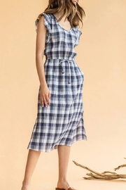 Lilla P Flutter Sleeve Dress - Product Mini Image