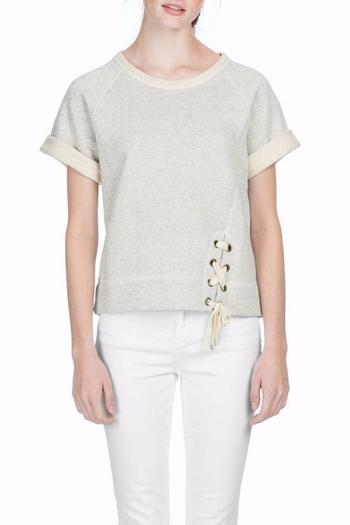 Shoptiques Product: French Terry Pullover - main