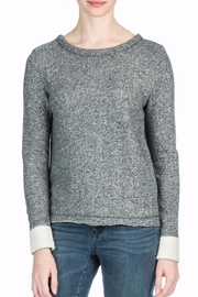 Lilla P Grey Cross Back Sweatshirt - Product Mini Image