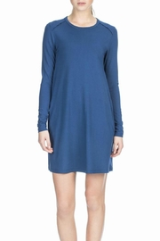 Lilla P Pocket Shift Dress - Front cropped