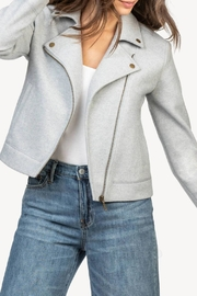 Lilla P Moto Jacket - Front full body