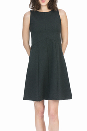 Lilla P Ponte Seamed Dress - Product Mini Image