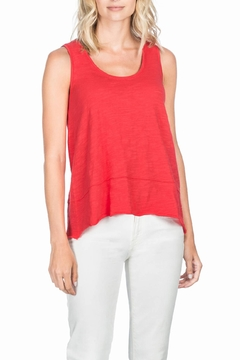 Lilla P Seamed Scoop Tank - Product List Image