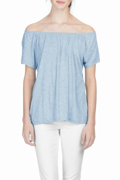 Lilla P Shirred Neck Top - Alternate List Image