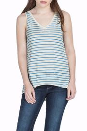 Lilla P Stripe Sleeveless Top - Product Mini Image