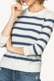 Lilla P Striped Crewneck - Product Mini Image